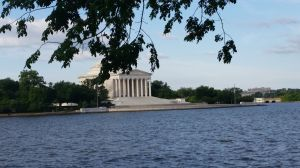 Jefferson Memorial and the tidal basin