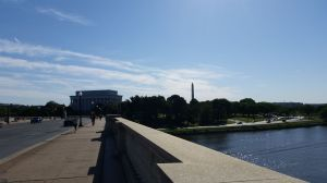 Lincoln Memorial from Arlington Memorial Bridge